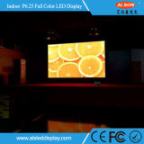 Color de interior curvo Alquiler panel de la pantalla LED P6.25