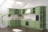 Mobiliário de cozinha de estilo americano Armário de cozinha de madeira maciça