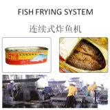 Автоматическая линия Procesiing Fryer рыб с емкостью на 400kgs/Hr