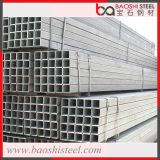 Section creuse Hot DIP Galvanized Square Steel Pipe