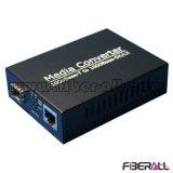 convertitore di media di 1000m per il ricetrasmettitore ottico LC 20km di 1.25g SFP