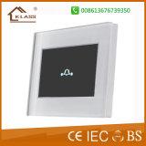 Commutateur de contact de Bell de porte de qualité avec la lumière