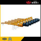 piezas de repuesto para equipos mezcladoras de hormigón de transportador de tornillo de la máquina de construcción
