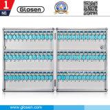 72 de aluminio Caja de almacenamiento de claves con el cuadro Tecla de función de pared