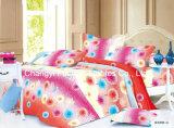 中国Suppilerのホーム織物の女王か王または十分にまたは対のサイズの多彩な寝具セット