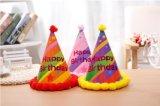 Fiesta de cumpleaños de papel colorido Hat y la tapa