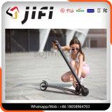 Scooter pliable de deux roues de fibre électrique de carbone de sports en plein air