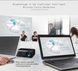 높은 루멘을%s 가진 직업적인 회의 DLP 영사기 교육 LED 가벼운 영사기