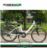 여자를 위한 26 인치 리튬 건전지 전기 자전거