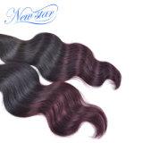 2017 estensioni superiori e popolari cinesi dei capelli umani dell'onda del corpo di Ombre