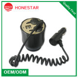 Phone를 위한 2.1A USB를 가진 2 Car USB Ports Cupholder Car Socket