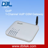 Rede de GoIP-1 1-Channel VoIP G/M Gateway/GSM