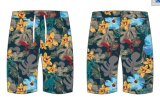 Athletic Custom Mens Sportswear calções de praia de poliéster