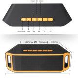 De professionele V4.0 Handsfree Draadloze Doos van de Spreker USB van de Muziek 1200mAh Vierkante Mobiele Correcte