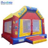 Castillo inflable de salto inflable de la casa de la gorila del partido
