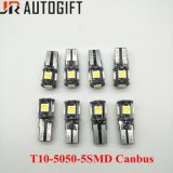 12V/24V Car Lights T10 W5w 5050 5LEDs Canbus Clearence Bulbs