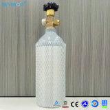 2.5 libras de cilindro de oxigênio de alumínio do tanque do cilindro do CO2 com a válvula de Cga 320