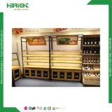 Supermarkt-Obst- und GemüseAusstellungsstand-Zahnstange