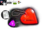 Coração reflexivo Chaveiro