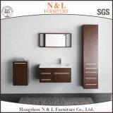 Самомоднейший домашний шкаф ванной комнаты твердой древесины мебели