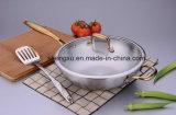 18/10 Koken van de Wok van Cookware van het Roestvrij staal het Chinese (sx-wo32-21)