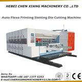 La impresora de color automática 4 de la venta caliente Slotter y muere el cortador