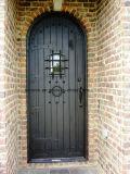 Quadratischer Spitzeneisen-einzelner Eintrag-Tür-Entwurf für Haus