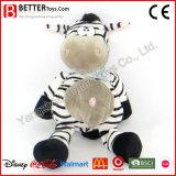 Custom Soft caresser animal en peluche de jouets en peluche pour enfants/Enfants Zebra