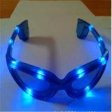 Dame LED beleuchten oben blinkende Brillen