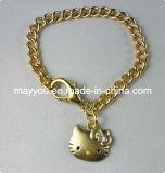 Hello Kitty мода украшения- Hello Kitty металлические цепи браслет