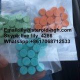 Mg des pillules 10 d'Anavar de stéroïdes anabolisant d'évolution de la masse musculaire