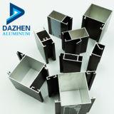 タンザニアのためのアルミニウムスライディングウインドウのプロフィールの金属フレームのドアアルミニウム6000のシリーズの