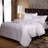 60sエジプト綿のサテンのジャカードホテルの寝具セット