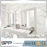 Tegel van de Plak van de Muur van Bookmatched de Marmeren Binnenlandse Marmeren voor de Bekleding van de Badkamers