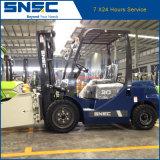 Diesel van China Snsc Vorkheftruck 3ton met de Prijs van de Klem van de Baal