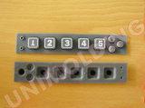 Clavier Clavier ordinateur//OEM/clavier en caoutchouc silicone Produit/clavier/étanches en caoutchouc de silicone en élastomère personnalisée du clavier de commande