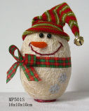 Decoração de Natal - em forma de ovo boneco (MP501S)