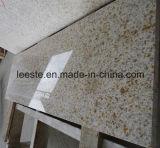 Плитка лестниц гранита Polished естественного желтого цвета персика камня G682 золотистого ржавая