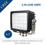 6 van de LEIDENE van de duim 100W CREE LEIDENE van de Schijnwerper Lamp van het Werk Lichte LEIDEN van het Werk Op zwaar werk berekend Licht