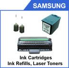 Cartouche d'encre de Samsung et cartouche de toner