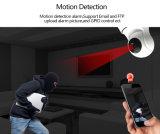 WiFi PTZ赤ん坊のモニタのための無線IPの赤外線夜間視界のドームのカメラ