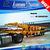 20FT 40FT Container Semi-Trailer Chassis pour Philippines