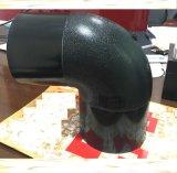 HDPE 개머리판쇠 융해 이음쇠 160mm 90 도 팔꿈치