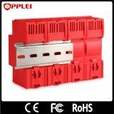 Imax 100ka T2 com trilho DIN supressores de surto de energia CA