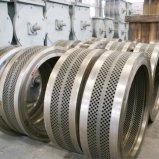 O anel do aço inoxidável morre da máquina de madeira da pelota