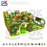 Jungle playground coberto Soft Infantil equipamentos de playground Naughty Castle
