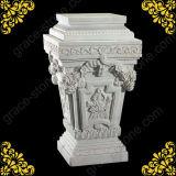 Pierre sculptée de base, socle en marbre naturel (GS-P-034)
