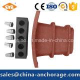 Heißer Verkaufs-vorgespannter Beton-flacher Lichtbogen Anchorage vom Hersteller