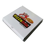Установите флажок для пиццы упаковка верхней и нижней части гофрированный картон