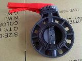 Hight / Válvula de Qualidade de plástico PVC borboleta (FQ65005)